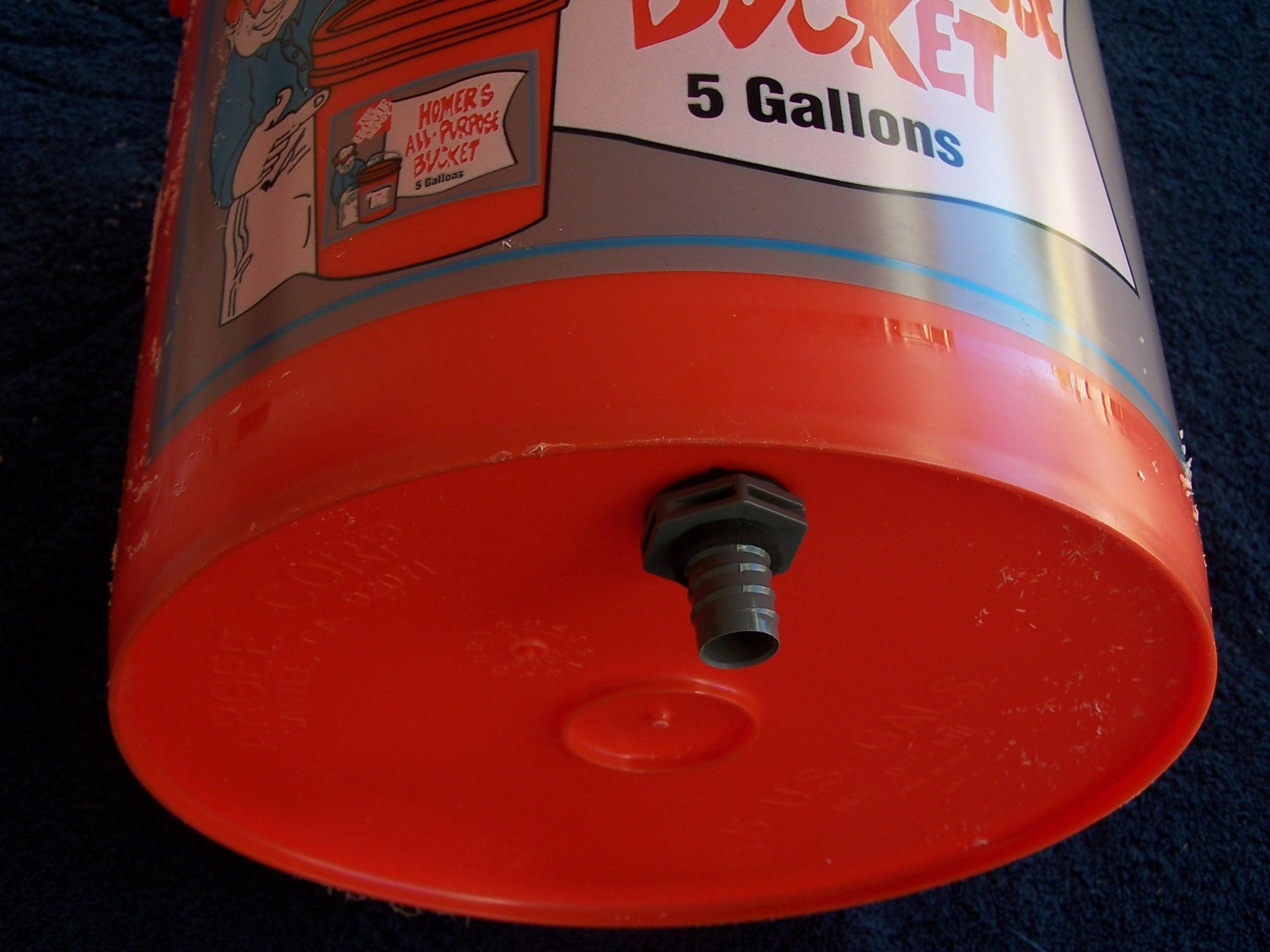 Diy Drip Irrigation 5 Gallon Bucket Do It Your Self Diy